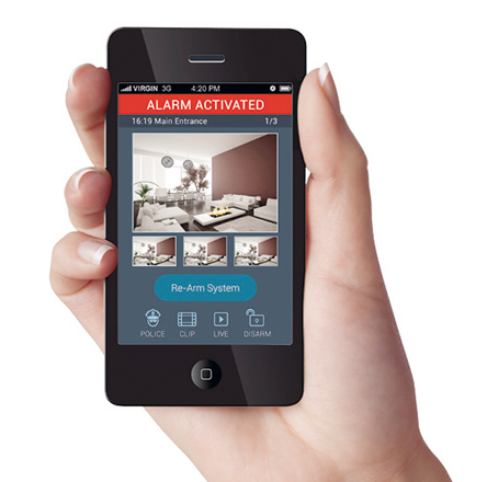 laysan seguridad alarma smartphone